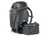 Rotation Pro 50L+ Backpack [ブラック/グレー]