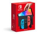 Nintendo Switch (有機ELモデル) HEG-S-KABAA [ネオンブルー・ネオンレッド] 製品画像