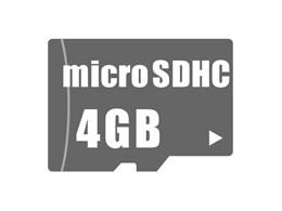 microSDHCメモリーカード 4GB