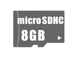 microSDHCメモリーカード 8GB