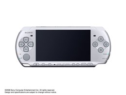 PSP プレイステーション・ポータブル ミスティック・シルバー PSP-3000 MS
