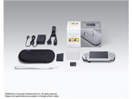 PSP プレイステーション・ポータブル バリューパック ミスティック・シルバー PSP-3000 KMS