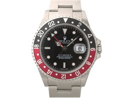 16710 GMTマスター2 スポーツ 自動巻き(ブラックx赤黒)