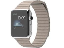 Apple Watch 42mm レザーループ