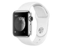 Apple Watch Series 2 38mm ステンレススチールケース/スポーツバンド