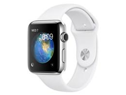 Apple Watch Series 2 42mm ステンレススチールケース/スポーツバンド