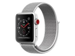 Apple Watch Series 3 GPS+Cellularモデル 38mm スポーツループ