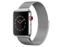 Apple Watch Series 3 GPS+Cellularモデル 42mm ミラネーゼループ