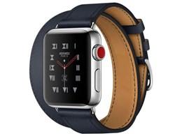 Apple Watch Hermes Series 3 GPS+Cellularモデル 38mm ドゥブルトゥール