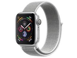 Apple Watch Series 4 GPSモデル 40mm スポーツループ