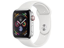 Apple Watch Series 4 GPS+Cellularモデル 44mm ステンレススチールケース/スポーツバンド