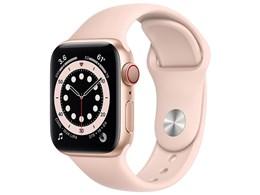 Apple Watch Series 6 GPS+Cellularモデル 40mm スポーツバンド