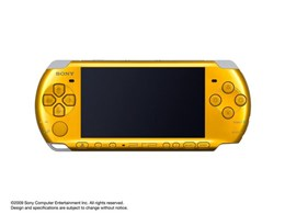 PSP プレイステーション・ポータブル ブライト・イエロー PSP-3000 BY