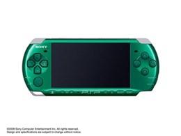 PSP プレイステーション・ポータブル スピリティッド・グリーン PSP-3000 SG