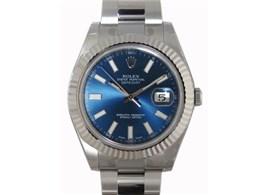 デイトジャストII 116334(ブルー)オイスターブレスレット