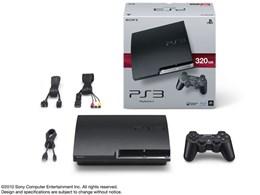 プレイステーション3 HDD 320GB チャコール・ブラック CECH-2500B