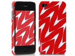 eggshell Finlandia Series for iPhone 4G - Taimi TUN-PH-000051 [レッド]
