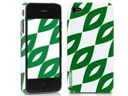 eggshell Finlandia Series for iPhone 4G - Aika TUN-PH-000052 [グリーン]