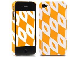 eggshell Finlandia Series for iPhone 4G - Kukka TUN-PH-000055 [イエロー]