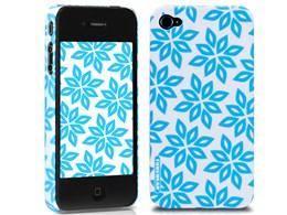 eggshell Finlandia Series for iPhone 4G - Lumi TUN-PH-000057 [スノーブルー]