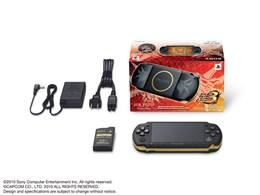 PSP プレイステーション・ポータブル モンスターハンターポータブル 3rd ハンターズモデル PSP-3000 MHB