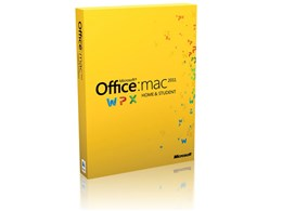 Office for Mac Home and Student 2011 1パック