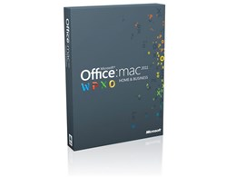 Office for Mac Home and Business 2011 1パック