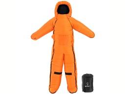 ヒューマノイドスリーピングバッグ Ver.5.0 ヌクヌクシリーズ ルーズサイズ DS-19C Paul [オレンジ/ブラック]