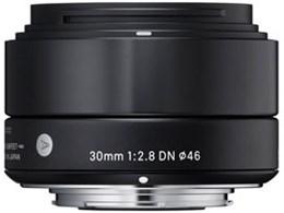 30mm F2.8 DN ブラック [マイクロフォーサーズ用]