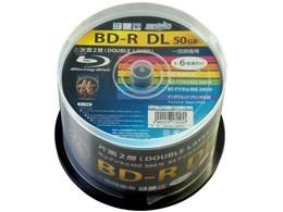 HDBDRDL260RP50 [BD-R DL 6倍速 50枚組]