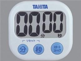 でか見えタイマー 100分計 TD-384 ホワイト