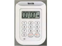 丸洗いタイマー 100分計 TD-378 ホワイト