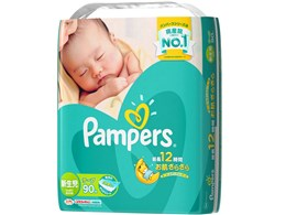 パンパース さらさらケアテープ 新生児 90枚