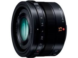 LEICA DG SUMMILUX 15mm/F1.7 ASPH. H-X015-K [ブラック]