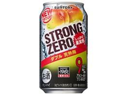 -196℃ ストロングゼロ ダブル完熟梅 350ml ×24缶