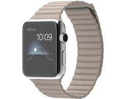 Apple Watch 42mm Mサイズ MJ432J/A [ストーンレザーループ]