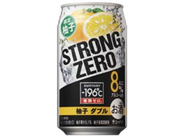 -196℃ ストロングゼロ 柚子ダブル 350ml ×24缶