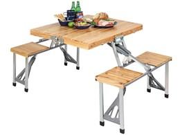 シダー 杉製ピクニックテーブル UC-3 [ナチュラル]