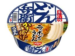 どん兵衛 かき揚げ天ぷらうどん 101g ×12食