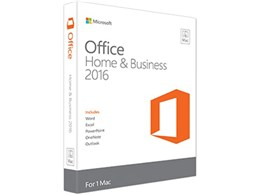 Office Home & Business 2016 for Mac ダウンロード版