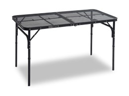 タフライトテーブル TLT-1260(MBK) [メッシュブラック]