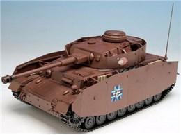 ガールズ&パンツァー劇場版 1/35 IV号戦車D型改(H型仕様) あんこうチーム 劇場版です!