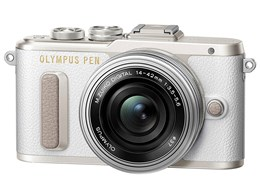 OLYMPUS PEN E-PL8 14-42mm EZレンズキット [ホワイト]