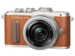 OLYMPUS PEN E-PL8 14-42mm EZレンズキット [ブラウン]
