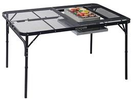BBQタフライトテーブル TLT-1280B(MBK)