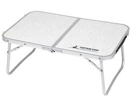 ラフォーレ アルミ薄型FDテーブル 60×40cm UC-514