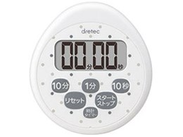 時計付防水タイマー T-565WT [ホワイト]