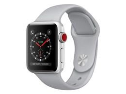 Apple Watch Series 3 GPS+Cellularモデル 38mm MQKF2J/A [フォッグスポーツバンド]