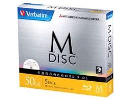 Verbatim DBR50RMDP5V1 [BD-R DL 6倍速 5枚組]