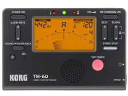 COMBO TUNER METRONOME TM-60 [ブラック]